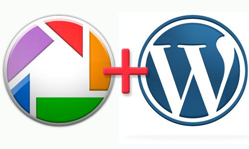 Как добавить Picasa в WordPress